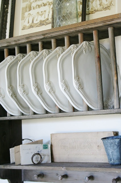 22 Best Images About Vintage Plate Racks On Pinterest