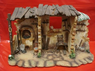 Fontanini Nativity Village Tradesman Shop Item #54602