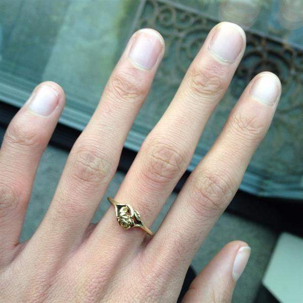ring from grandma  by Chiara Pontier