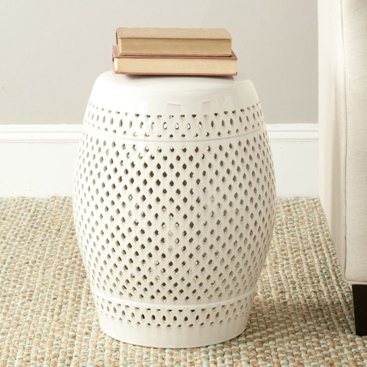 Perfect Ceramic End Tables
