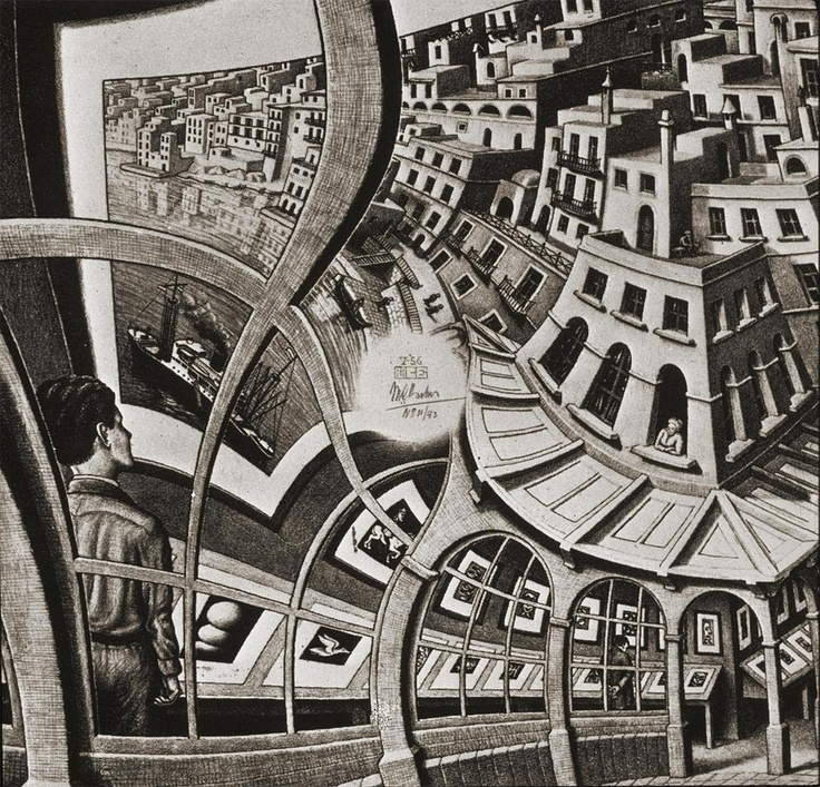 25 best images about esher on pinterest for Mc escher gallery