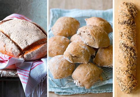 Slik baker du eltefri brød og rundstykker (fremgangsmåte og oppskrifter)