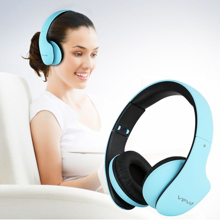 KISSCASE Noise Cancelling Bluetooth Headphones with Mic Wireless Headset for Phone PC Computer MP3 36 Hours Volume Control