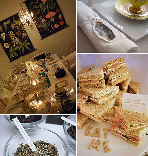 Tea Party #tea #party #sandwich
