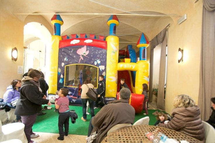 Giochi gonfiabili per i più piccoli