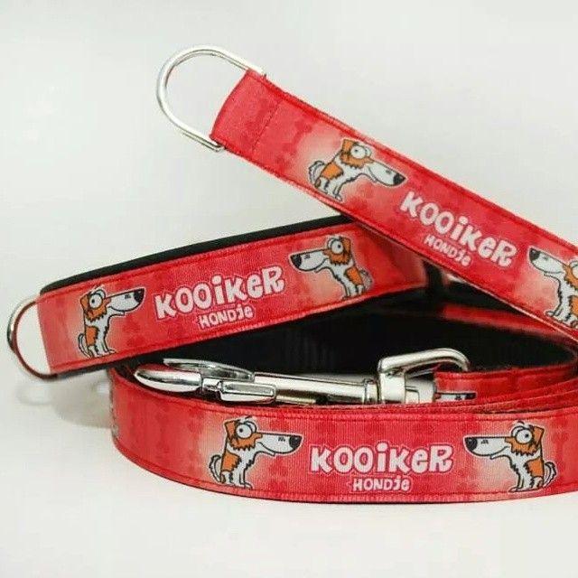 Obojek & vodítko & klíčenka od Blackberry | Collar & leash & key ring by Blackberry #kooiker #hondje #dog #collar #leash #keyring #red #cervena #blackberry #handmade #pes #voditko #obojek #rucni_vyroba