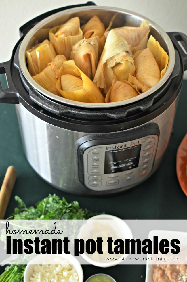 Homemade Turkey Instant Pot Tamales + How To Battle Heartburn
