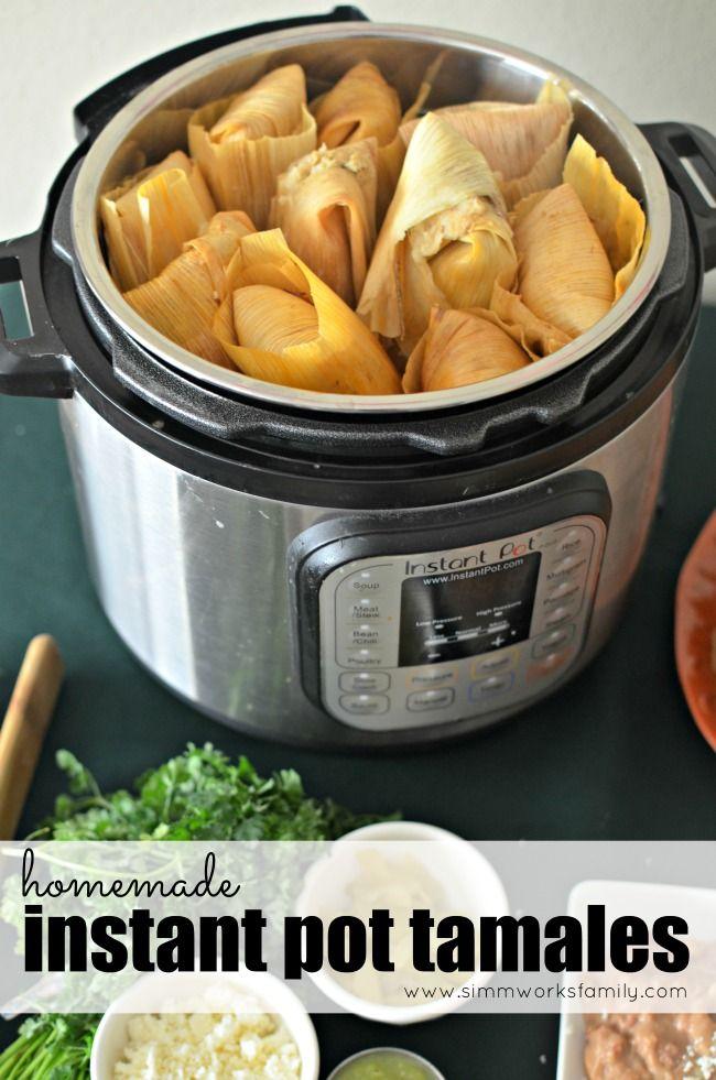 Homemade Turkey Instant Pot Tamales + How To Battle Heartburn