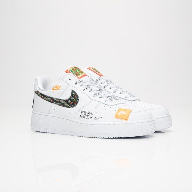 nike air force 1 low jdi white orange