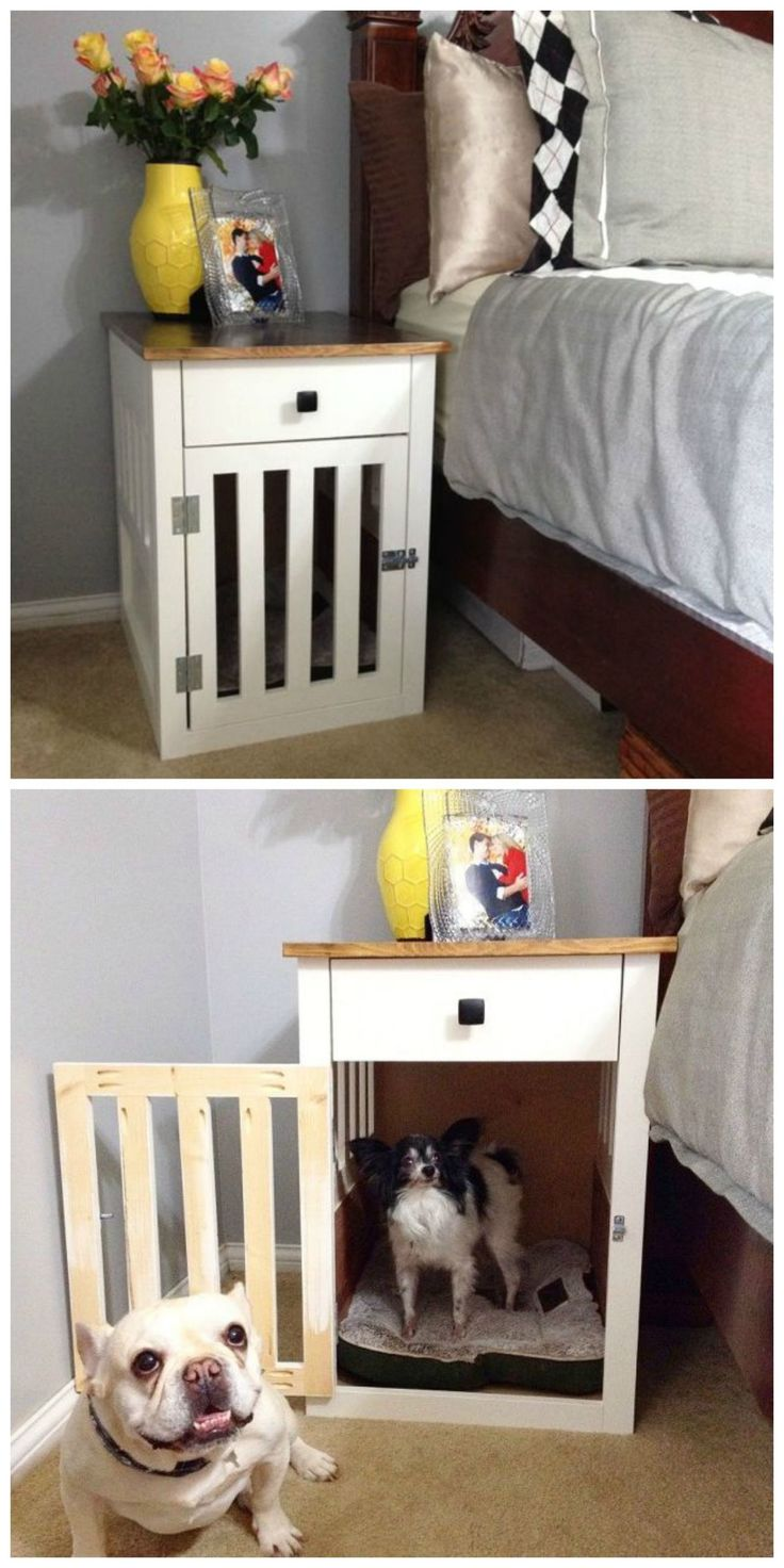 1000 ideas about cheap dog kennels on pinterest extra for Cheap dog crate furniture