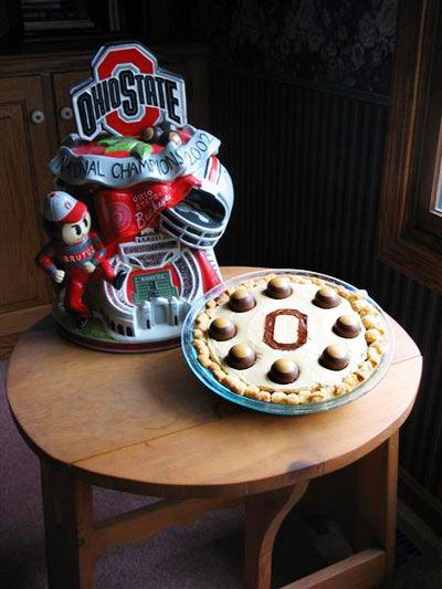 Buckeye Pie -- in time for the Final Four this w/end!  Go Ohio State!!