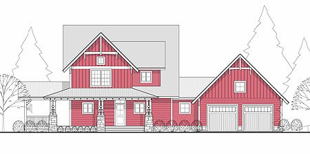 Master Down 3 Bed Farmhouse Plan - 28700KC | Country, Farmhouse, Traditional, 1st Floor Master Suite, CAD Available, PDF, Wrap Around Porch | Architectural Designs
