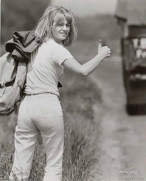 Kind of wish I lived in the times of safe hitch hiking and random adventure. Simpler times. MP.