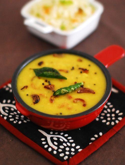 Kerala Style Dal Fry – Parippu Thalichathu