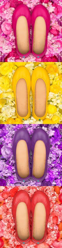 Ready, Set, Bloom Into Spring!   Tieks Ballet Flats