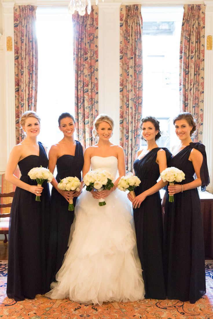 76 best jenny yoo images on pinterest bridesmaids marriage and nyc winter wedding at the lotos club long black bridesmaid dressesblack ombrellifo Image collections