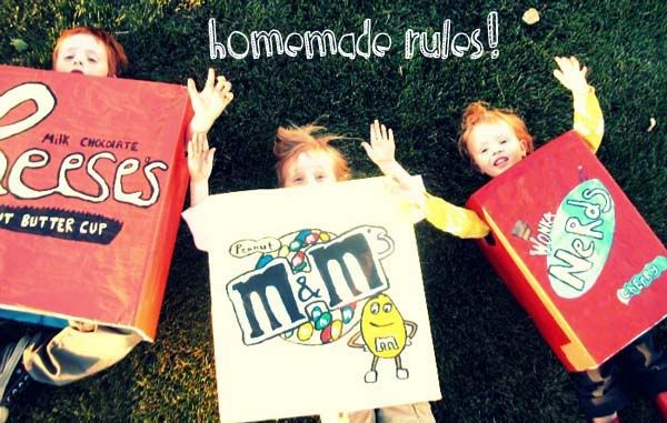 Homemade Halloween Costumes @Catie Ross @Doni Winsworth @Shannon Slayton @K. Zito We can put together a team of candies for Halloween! :): Cardboard Boxes, Candy Costumes, Kids Halloween Costumes, Homemade Costumes, Kids Costumes, Candy Boxes, Costumes Ideas, Halloween Ideas, Homemade Halloween Costumes