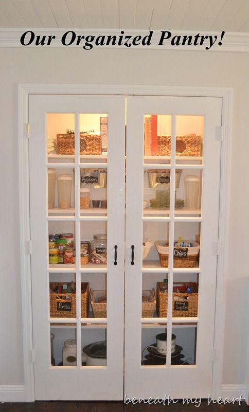 17 Best Ideas About Pantry Closet Organization On Pinterest Pantry Closet Small Pantry Closet