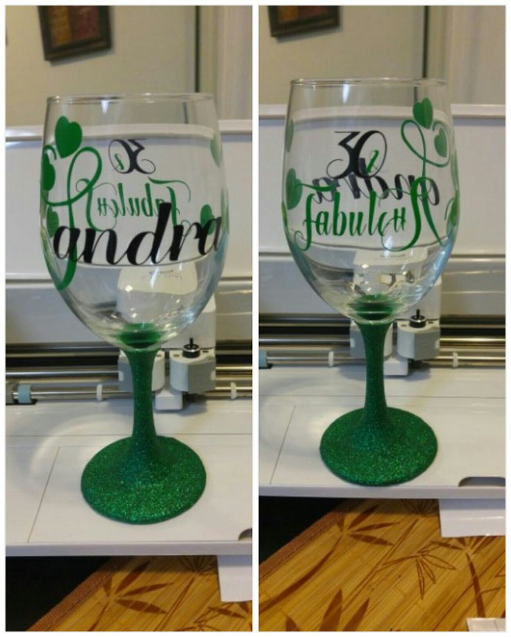 Dinner Party Gift Ideas Part - 38: Wine Glass Craft. Pin Now Click Later. Personalized Wine Glass/gift For Her