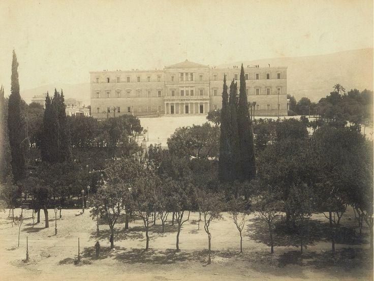 Αθήνα, Πλατεία Συντάγματος, 1880