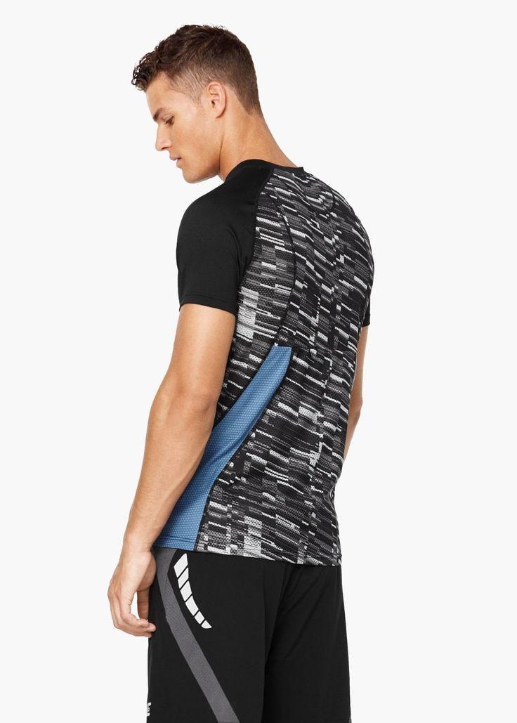 Short-sleeve technical running t-shirt
