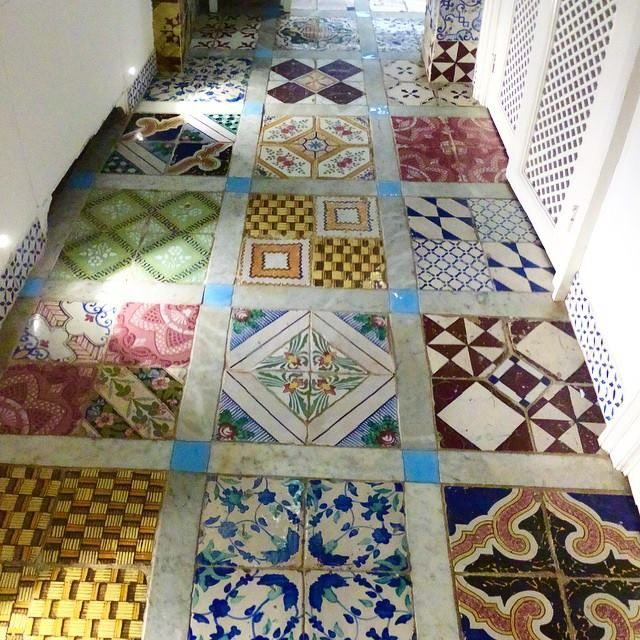 A floor of pattern inspiration!