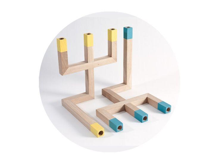 Svietnik 3-1  kombinuje minimalistický vzhľad s možnosťou tvarovej hry v podobe používania v dvoch polohách po jednoduchom prevrátení  a to buď pre jednu alebo tri sviečky. Zmenou tejto polohy sa taktiež mení aj atmosféra v miestnosti.