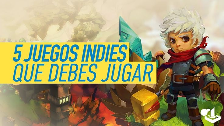 5 Juegos Indies que debes jugar - PS4, Xbox One, PC, Wii U, Switch, 3DS, PS Vita - YouTube https://youtu.be/a0mCjXq7uXE