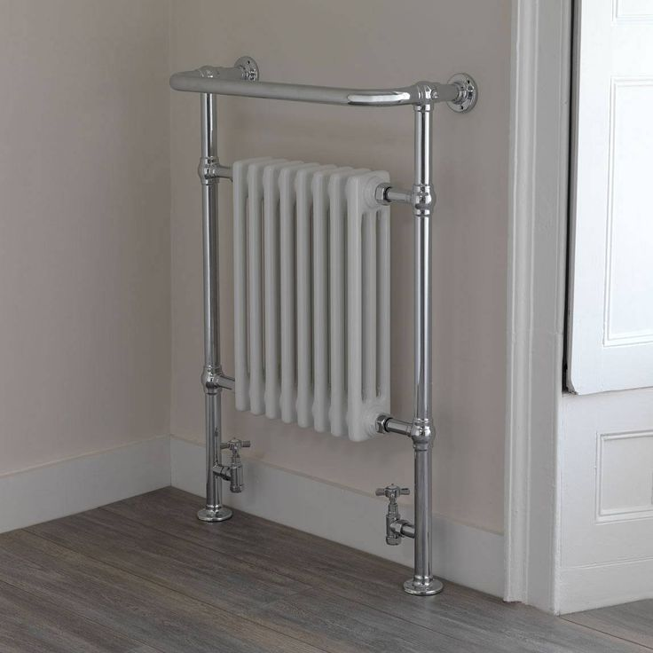 The towel radiator!    Elizabeth Heated Towel Rail