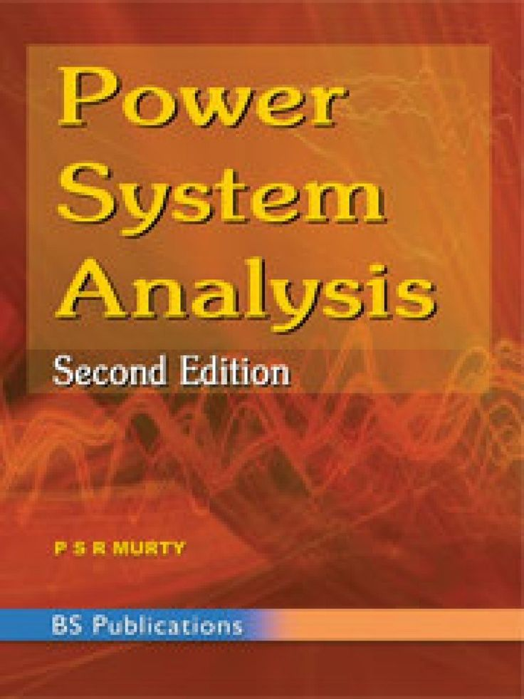 Power System Analysis By Murty Electrical Engineering Books