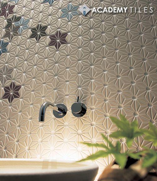 lovely asanoha tiles!
