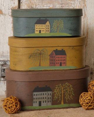 Primitive Stacking Boxes