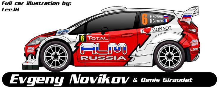 WRC | FORD | #6 | Evgeny Novikov ( 1-12 ) - Denis Giraudet ( 1-8 )