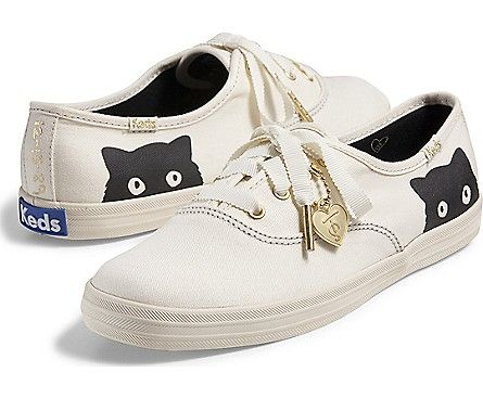 Want these in a 7.5!   Keds Taylor Swift's Champion Sneaky Cat