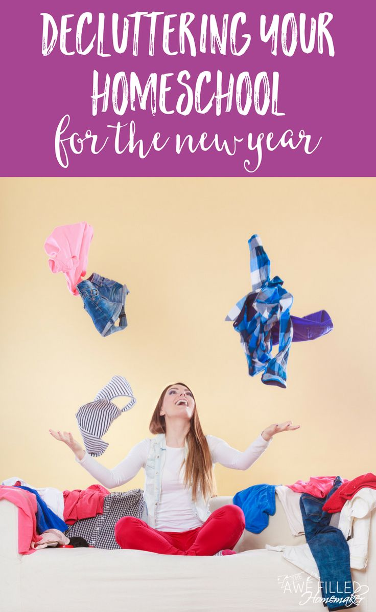 I confess! I am a curriculum hoarder and it just all accumulates! Overtaking our homeschool area. So with the New Year, it is the perfect time to Declutter! #Homeschool #HomeEducation #Organization #DeClutter #Homemaking #DeclutterChallenge  via @AFHomemaker