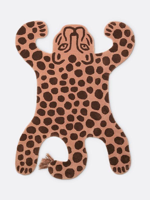 Safari Tufted Rug Leopard 1 Leopard Rug Tufted Rug Ferm Living Kids #safari #rugs #living #room