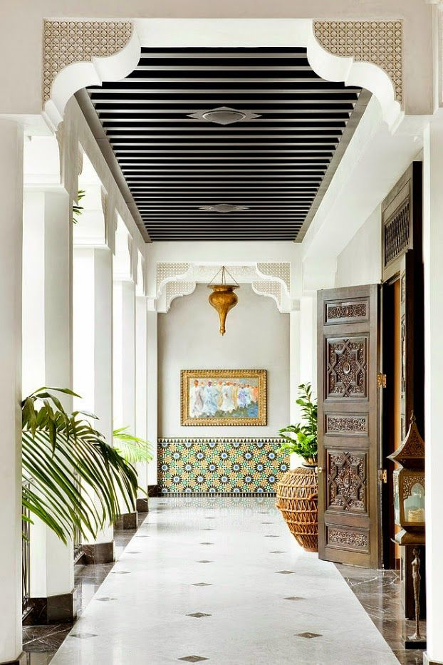 Красивый дом: Калифорнийский дом в марокканском стиле