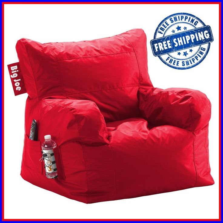 Big joe comfortable stain resistant dorm chair bean bag