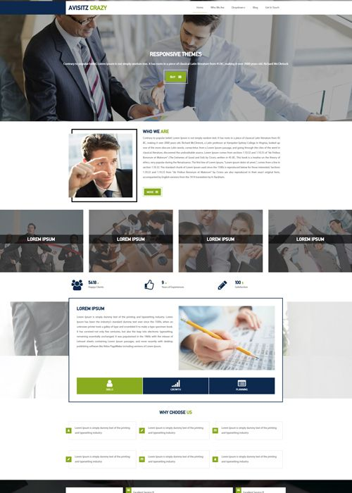 #CorporateWebsiteTemplates
