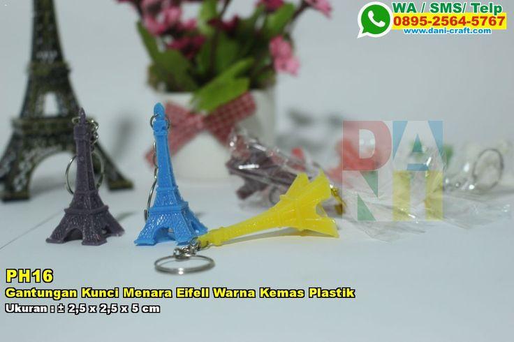 Gantungan Kunci Menara Eifell Warna Kemas Plastik WA/SMS/TELP: 0896-3012-3779 #GantunganKunci #JualKunci #desainundanganPernikahan
