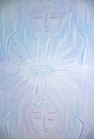 "Saatchi Art Artist ageliki baka; Painting, ""Αncient Greek Μysteries"" #art"