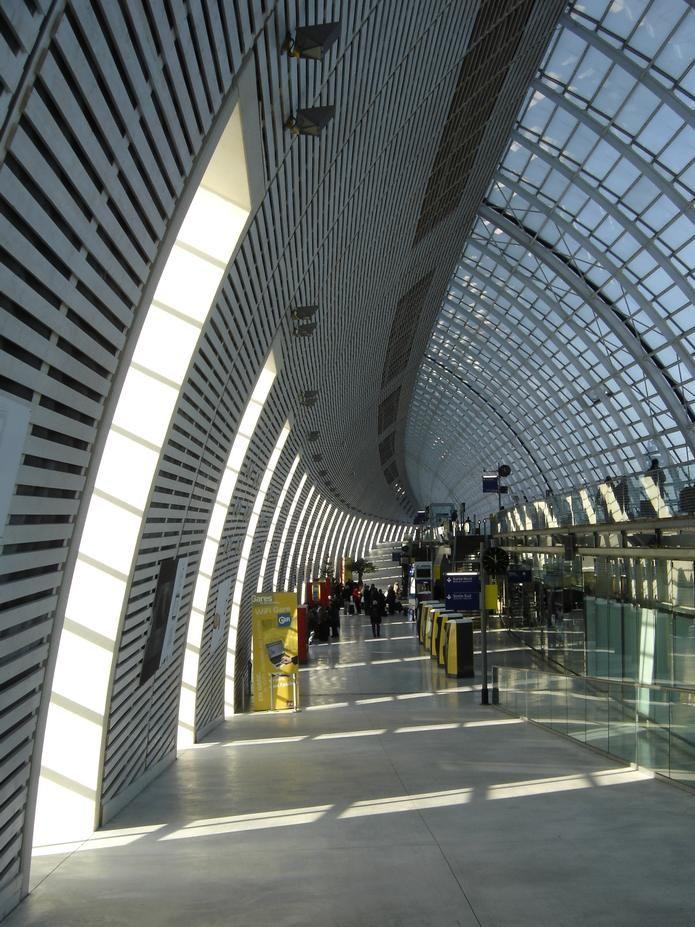Avignon TGV train station | Avignon, Train station, Travel ...