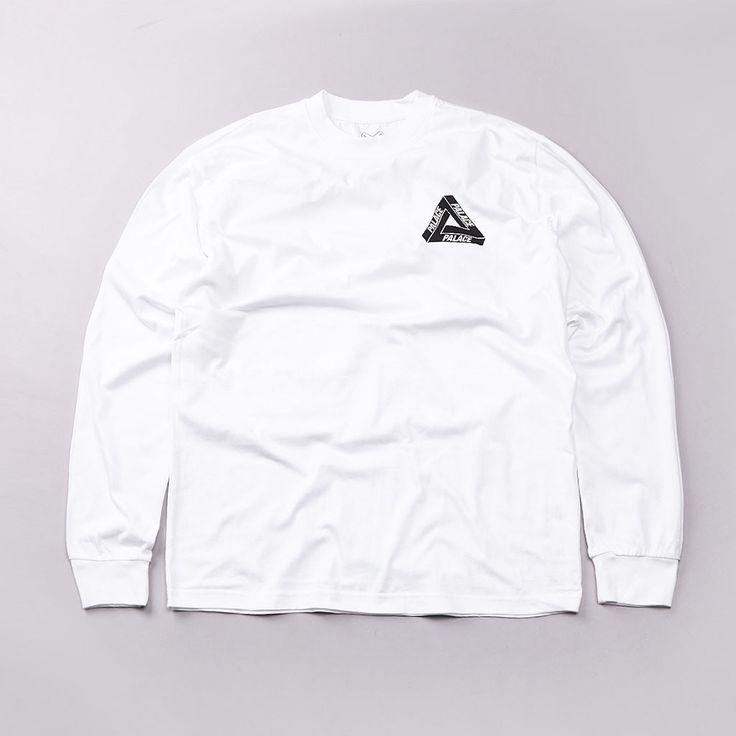 Flatspot - Palace Domino L/S T Shirt White