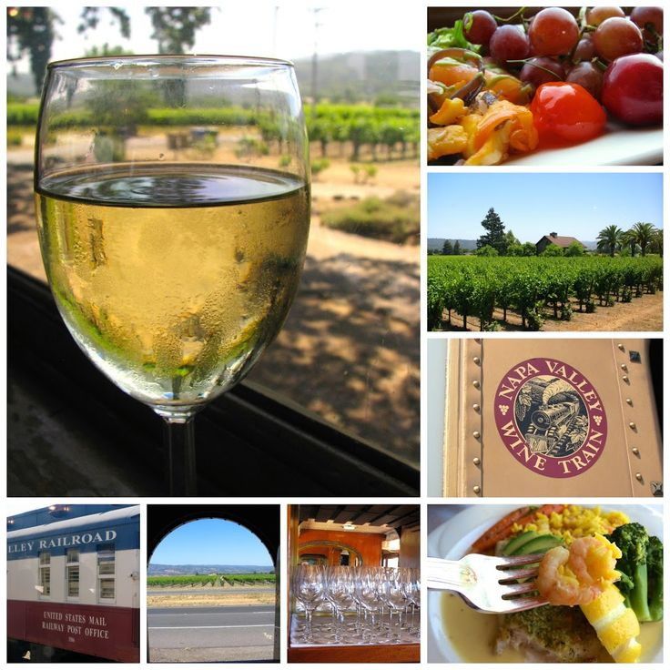 The Napa Valley Train is always a fab idea! Catch transportation from San Francisco and you're there!