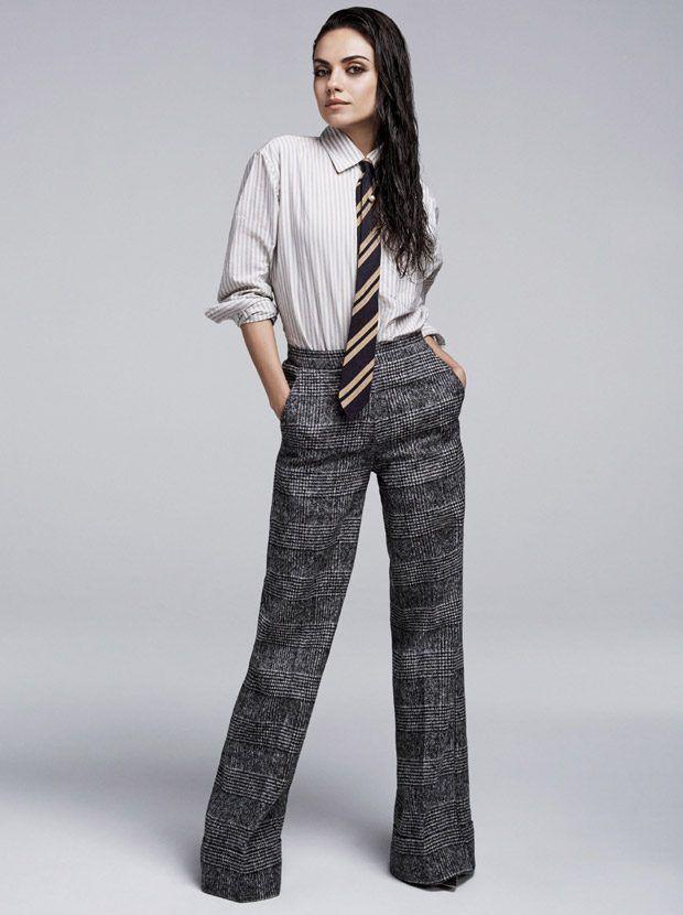 Snapshot: Mila Kunis by Steven Pan for Glamour Magazine August 2016