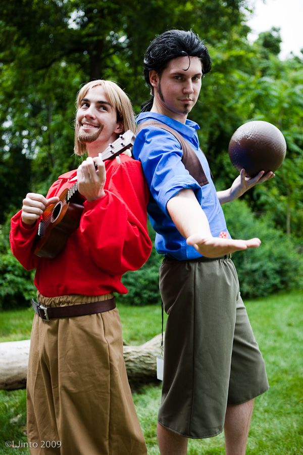 Miguel and Tulio! Tulio and Miguel! Mighty and powerful gods!!!!!
