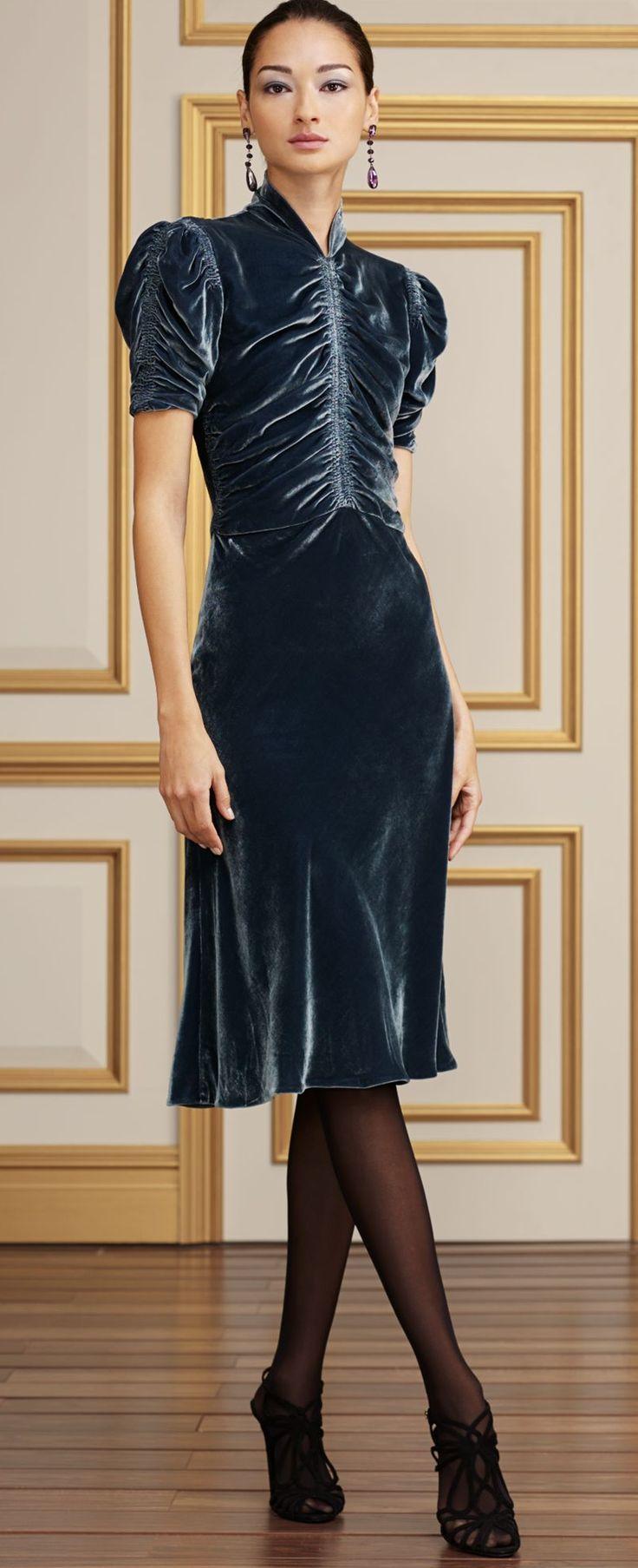 I like the dress, tights, & heels, but I would want stud earrings instead