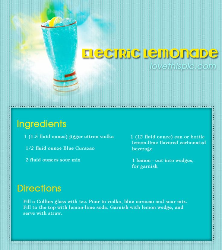 Electric Lemonade Pictures, Photos, and Images for Facebook, Tumblr, Pinterest, and Twitter