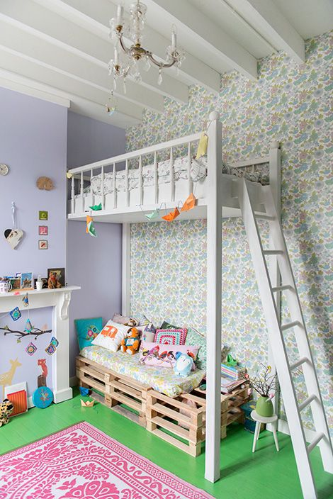 lovely room with a bunk bed...