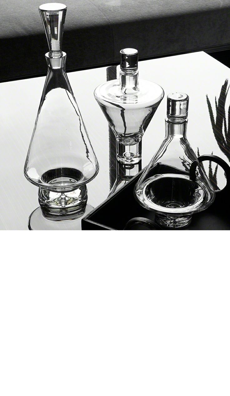 top  best modern decanters ideas on pinterest  midcentury  - luxury christmas gift ideas from hollywood designer modern glass decantersbar accessories